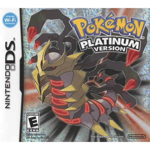 Pokemon Platinum cover