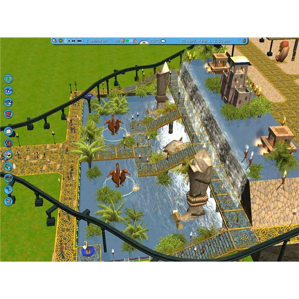 rollercoaster tycoon 2 tracks download