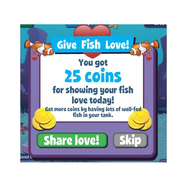 how to play fish world on facebook