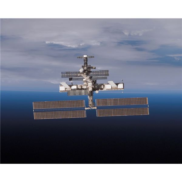 The International Space Station Operates from LEO