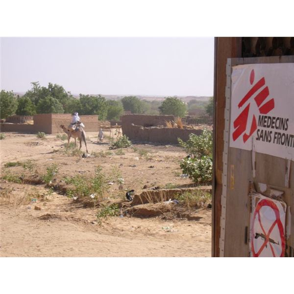 MSF front door in Chad