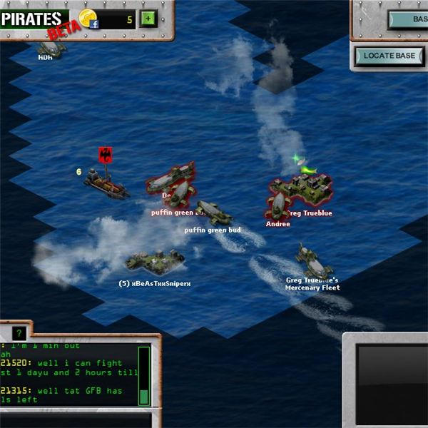 Battle Pirates: Battles on the Map