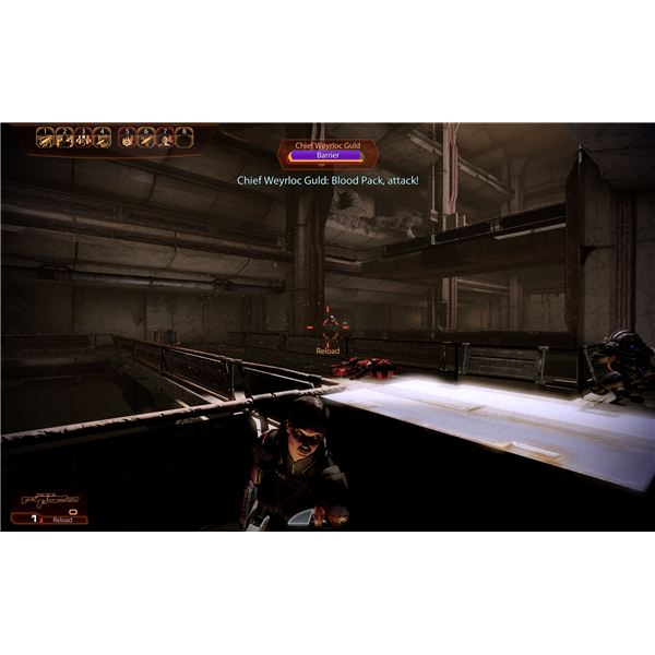 Mass Effect 2 - Mordin's Loyalty Mission - Guld Protecting Maelon
