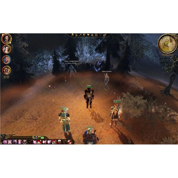 Dragon Age: Awakening Guide - Wending Woods Side Quests - Stone Brothers