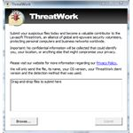 ThreatWork Window of Ad-Aware AE