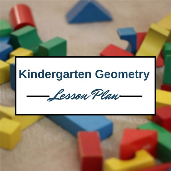 Kindergarten Geometry Lesson Plan