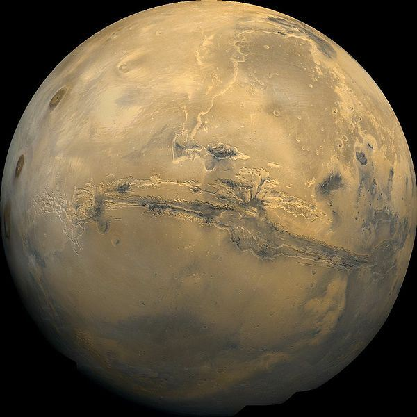 Discovering Martian Canyons