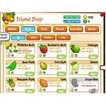 Island Pardise Facebook games - island shop