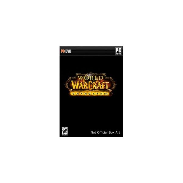 warcraft cataclysm boxed set -- not WoW gear you can buy