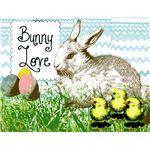 Bunny Love Brushes by charmedbyjessica