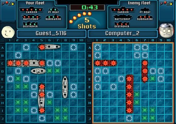 Play Battleship Free Online