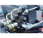 Hydraulic acuator and valve unit