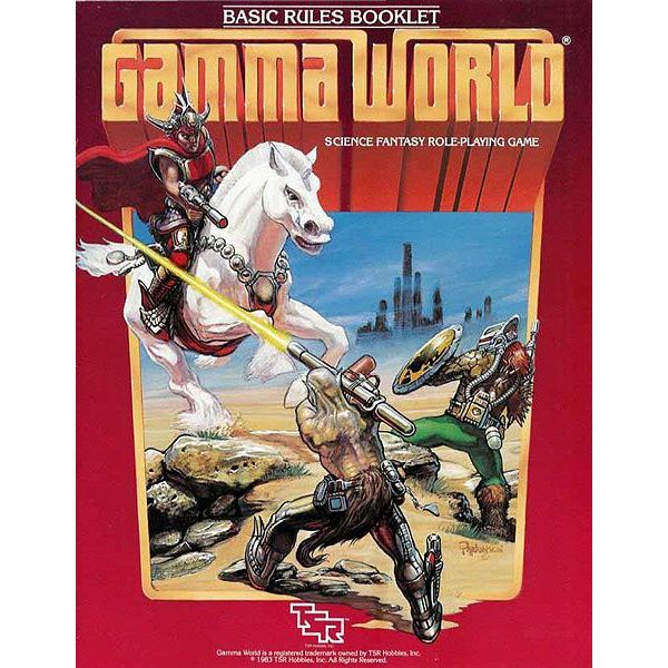 What is Gamma World 4th Edition