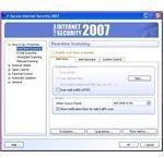 Advanced settings for configuring the antivirus behavior
