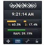 System Monitor gadget