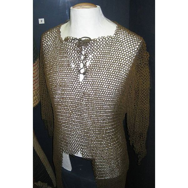 390px-Chain mail coat, Sudanese