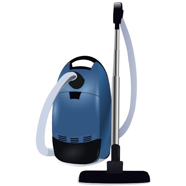 Blue vacuum cleaner Wikimedia Commons