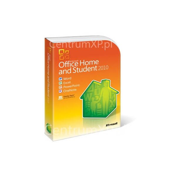 Microsoft Office 2010 Home And Student Box Art