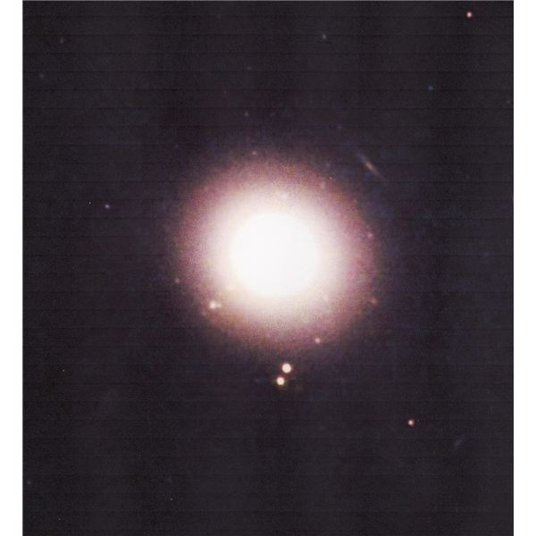 An elliptical galaxy