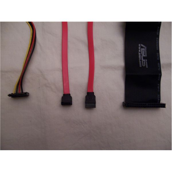 IDE and SATA Connectors
