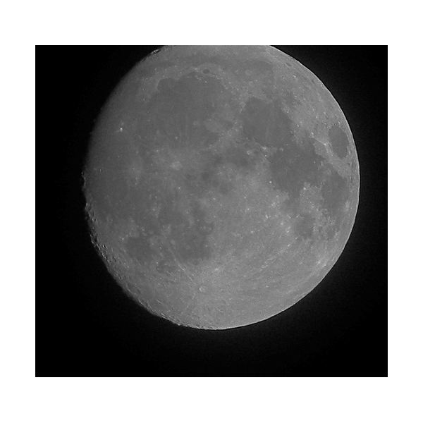 Waxing or Increasing Gibbous Moon