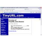 TinyURL using Preview option