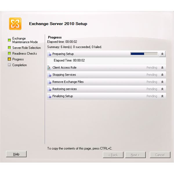 Exchange 2010 Client Access Server uninstall