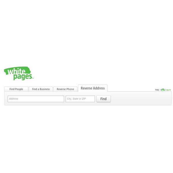 White Pages Reverse Look-up Search