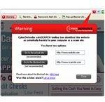 Phishing scam alert