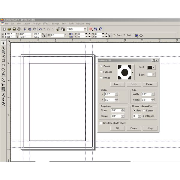 How to Make Borders in Corel Draw: Step-by-Step with Screenshots