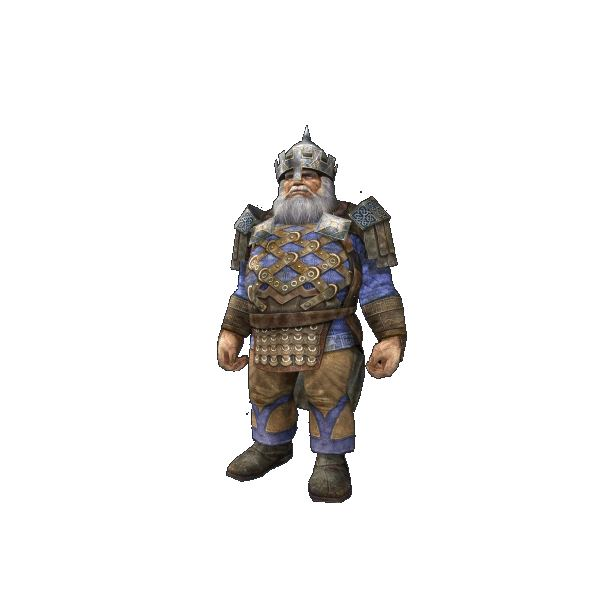 Thorin Oakenshield full length stock photo LOTRO