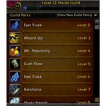 Guild Leveling Tab