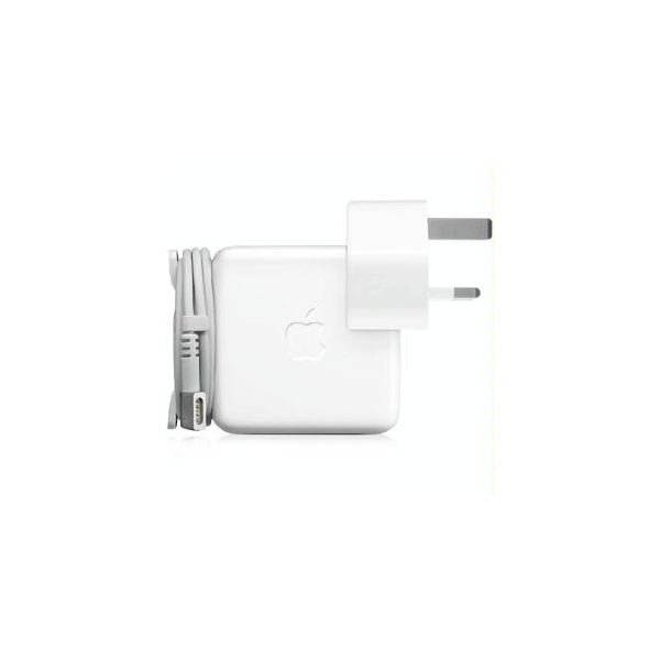 An Apple MacBook charger
