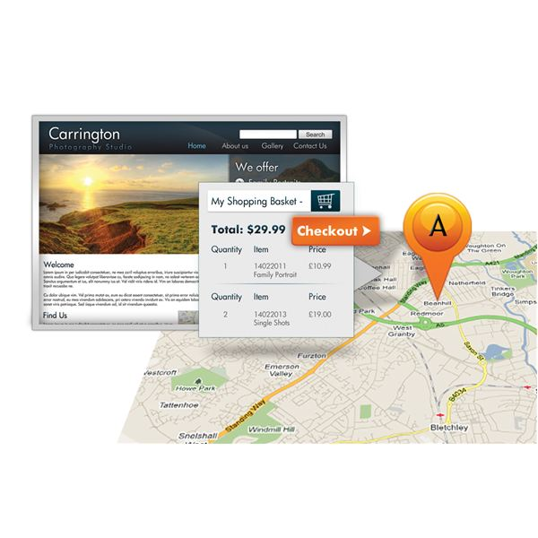 Online Booking and Maps