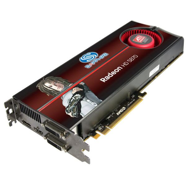 The Radeon 5850 and 5870 are the latest in GPU technology