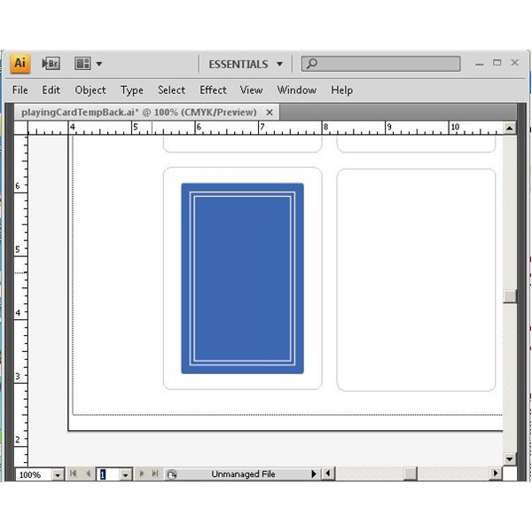 blurb indesign template - learn how to create playing cards in illustrator