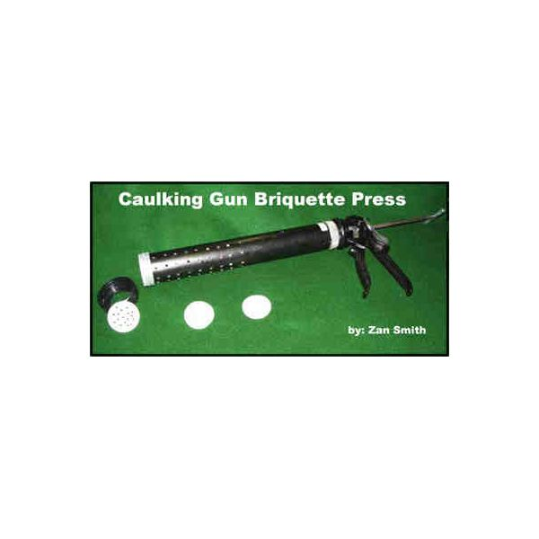Caulk gun press