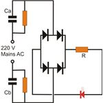 Simple Capacitive Power Supply Circuit, Image