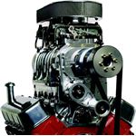 engine with supercharger