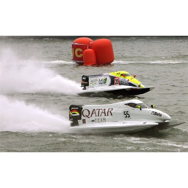 F1 powerboat racing - Boat racing explained in a simple manner