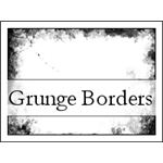 Grunge borders PSP 8 by agent provocateur