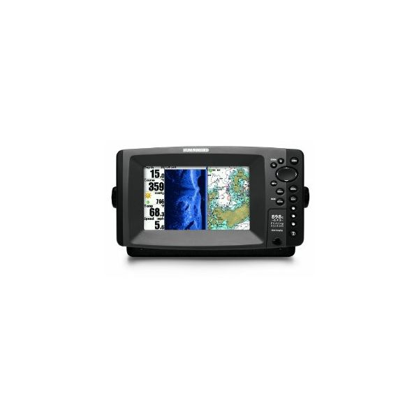 Hummingbird 898c SI Combo 7-Inch Waterproof Marine GPS and Chartplotter with Sounder