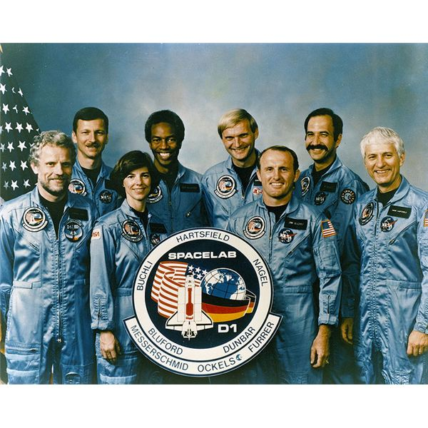 The Crew of the STS-61A Mission