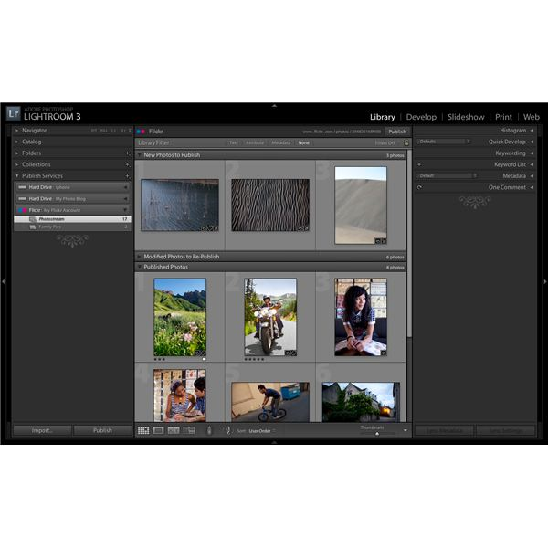 Adobe Lightroom 3 Review: Publish to Flickr