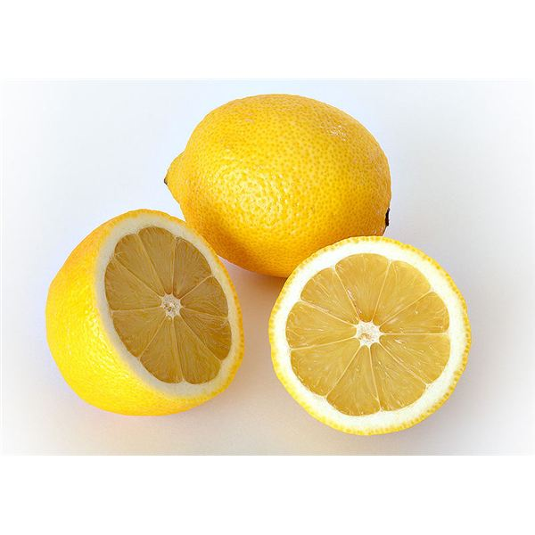 """Whole and cut lemon"" by André Karwath/Wikimedia Commons via Creative Commons Attribution-Share Alike 2.5 Generic license"