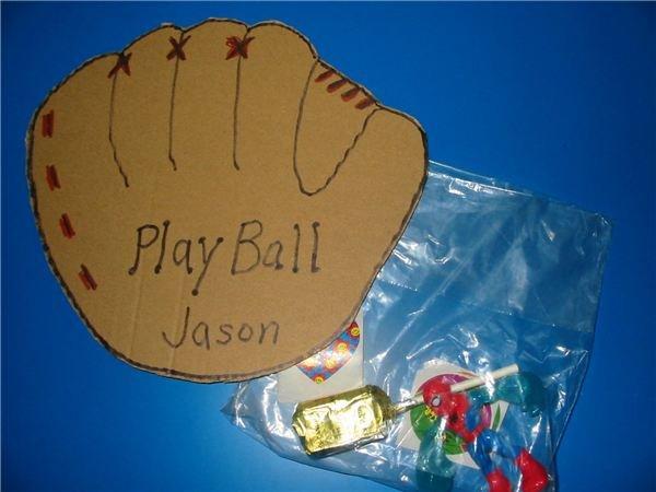 Baseball Glove Scorecard