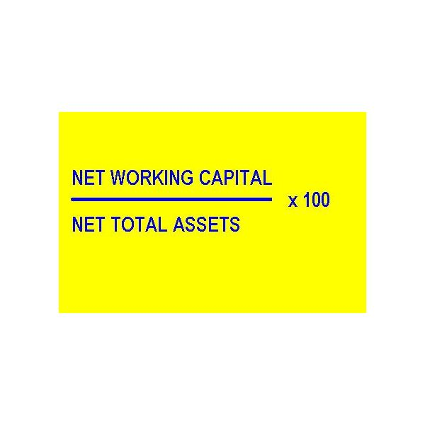 Working Capital to Total Asset Ratio