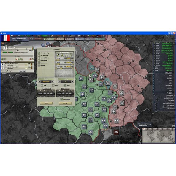 Air Superiority and Ground Attacks in HoI III