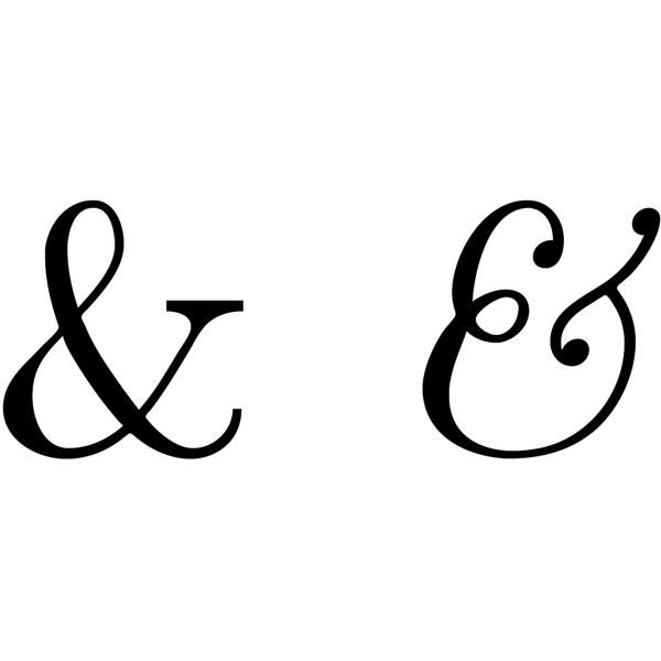 And Vs Ampersand Usage When Can The Ampersand Be Used
