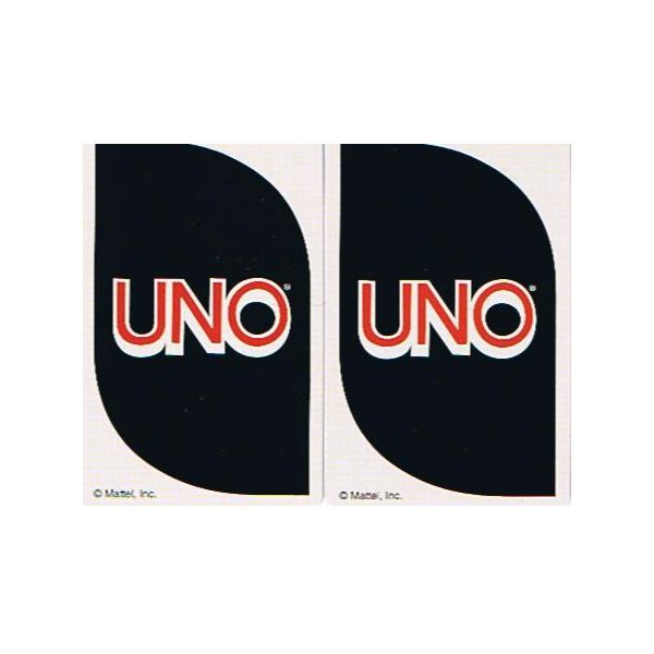 Uno 40th Anniversary Edition Cards (Back)